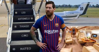 E FUNDIT/ Avioni privat i Leo Messit pëson defekt në ajër