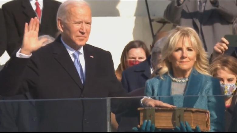 Betohet Joe Biden! Zyrtarisht president i SHBA-së